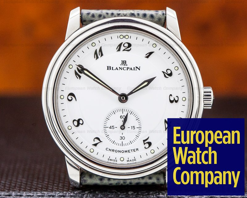 Blancpain 7002-1127-55 Ultra Thin White Dial