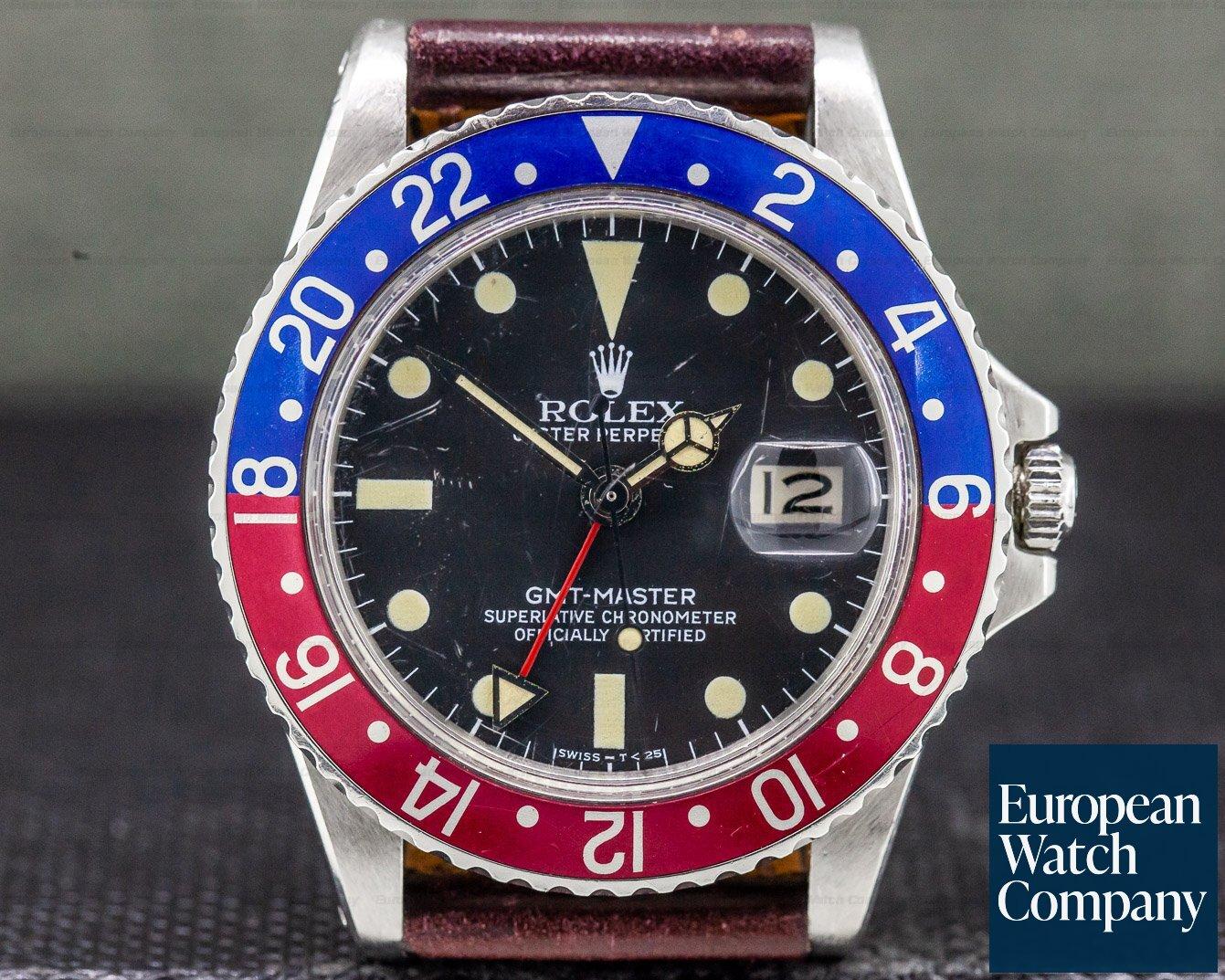Rolex 1675 Vintage GMT Master