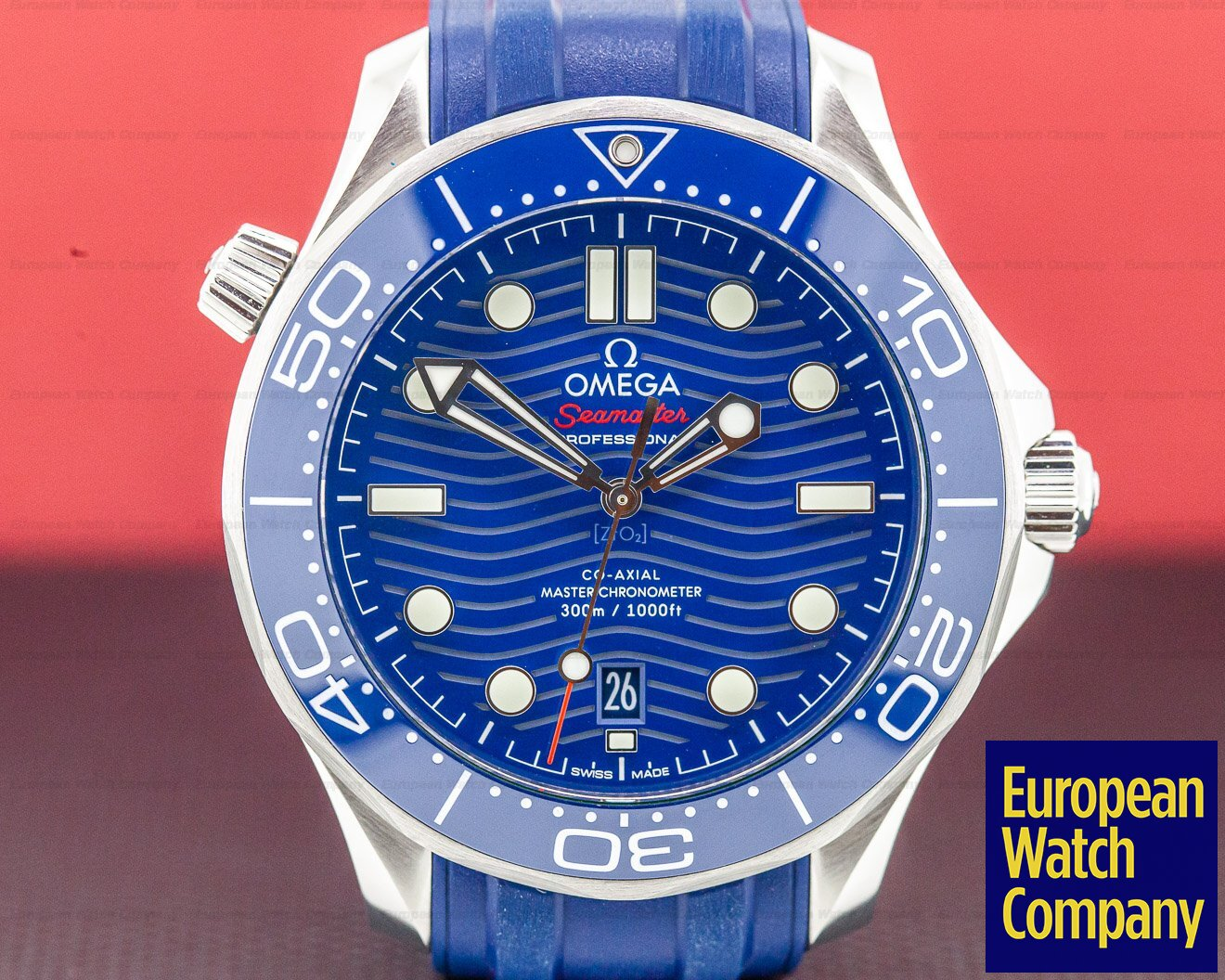 Omega 210.32.42.20.03.001 Seamaster Diver 300M Co-Axial Master Chronometer 42MM