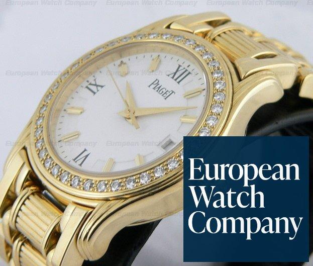 (13061) Piaget 22005 M 501 D Ladies Polo White Dial