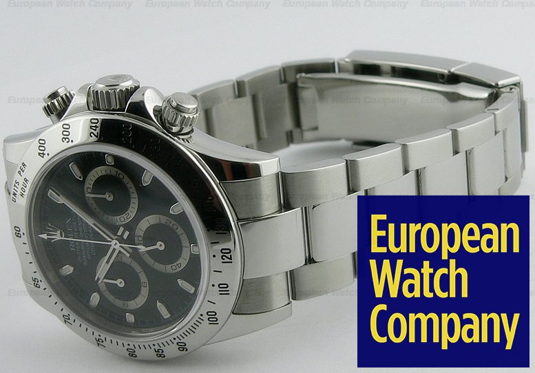 reputable site 0d9d5 c0ea5 13151) Rolex 116520 Daytona SS Black Dial V Series