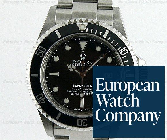 (13192) Rolex 16600 Sea-Dweller SS/SS
