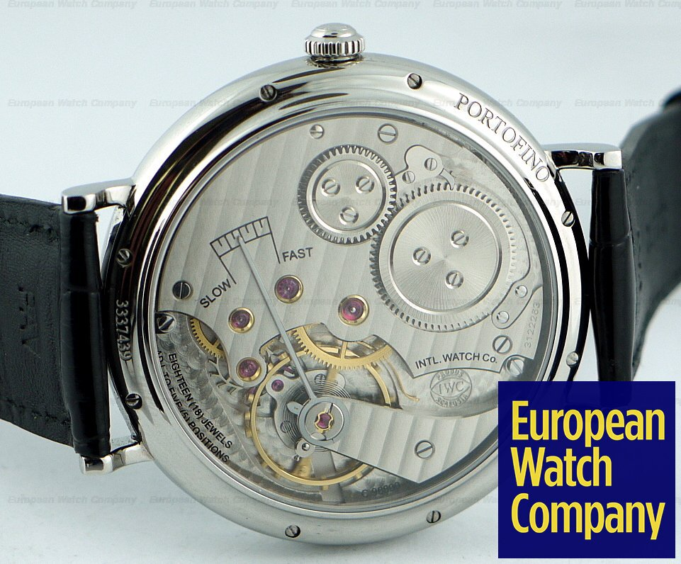European Watch Company: IWC Portofino Manual Wind 5448-01