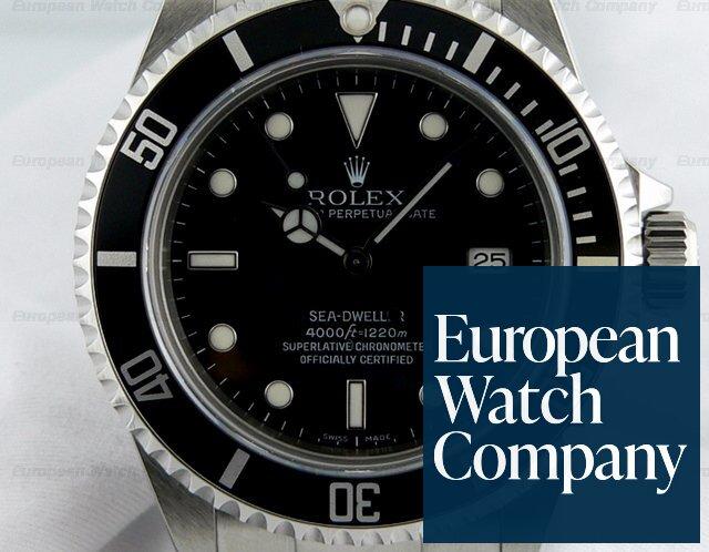 (14429) Rolex 16600 Sea-Dweller SS/SS