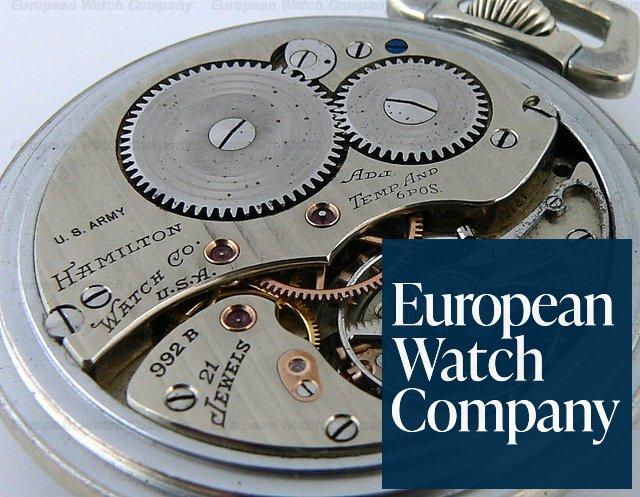 hamilton watch company pocket watch