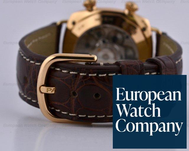 newest 5a5ac 95b11 17333) Panerai PAM238 Radiomir GMT Alarm 18K Rose Gold Black ...