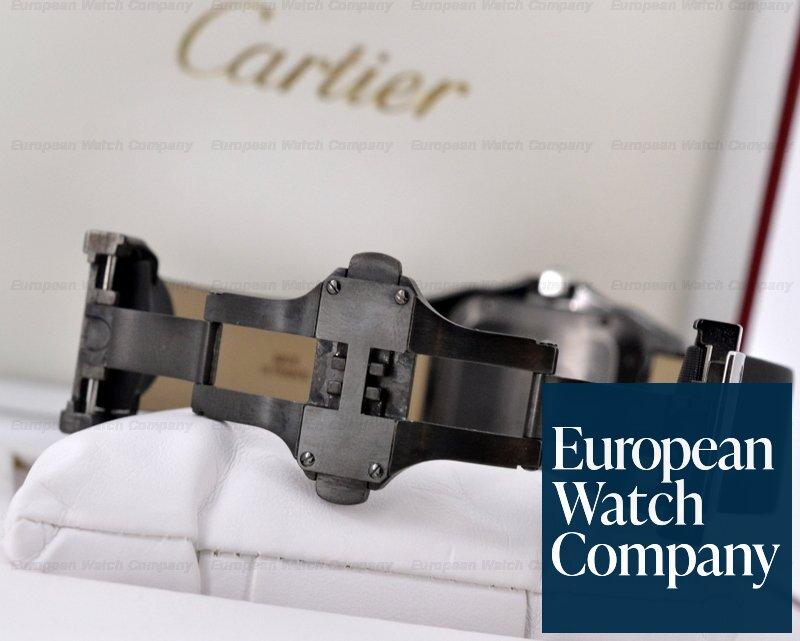 (19350) Cartier W2020008 Santos 100 DLC Midsize