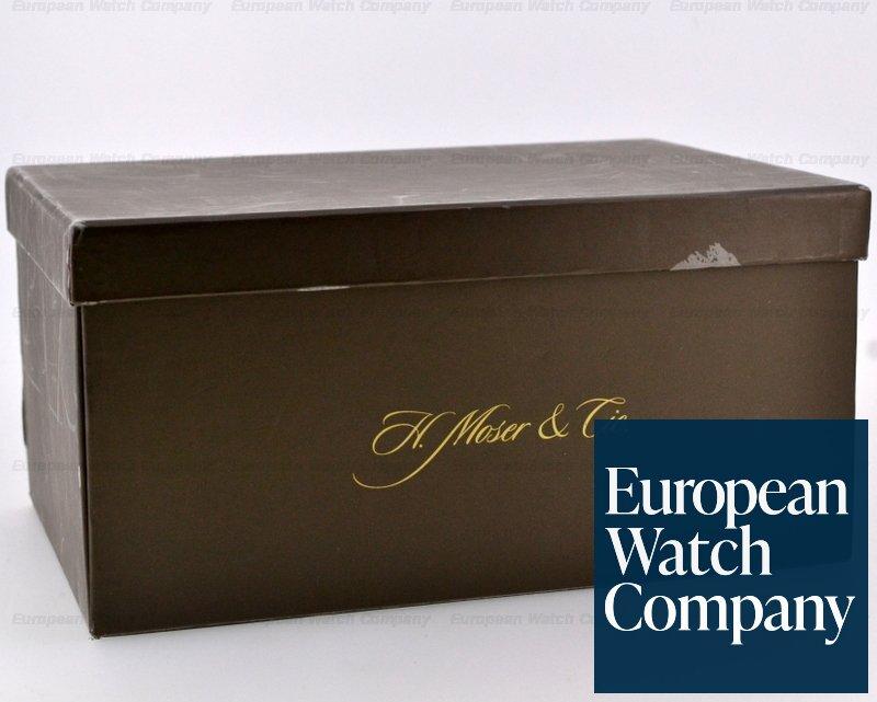 (19675) H. Moser & Cie 321.503-L02 Mayu 18K White Gold