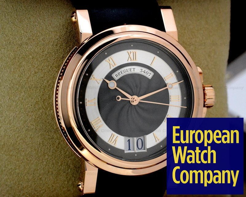 best website 97be3 26df9 22656) Breguet 5817BR/Z2/5V8 Marine Automatic Big Date 18K ...