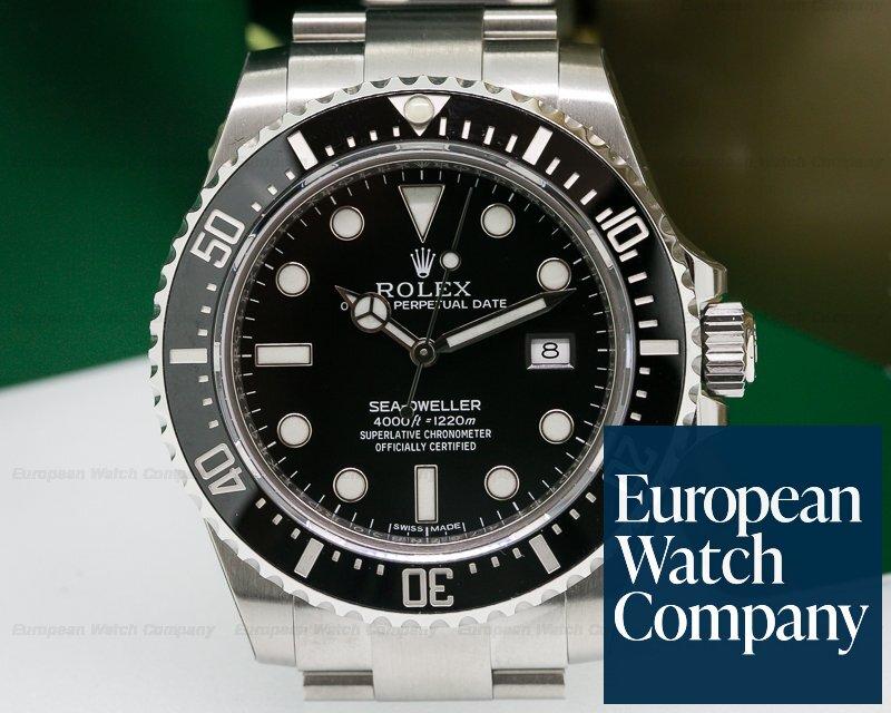 (23266) Rolex 116600 Sea Dweller 4000 SS UNWORN