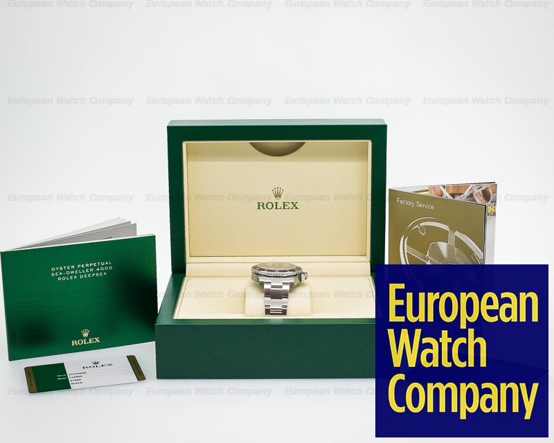 23266) Rolex 116600 Sea Dweller 4000 SS UNWORN