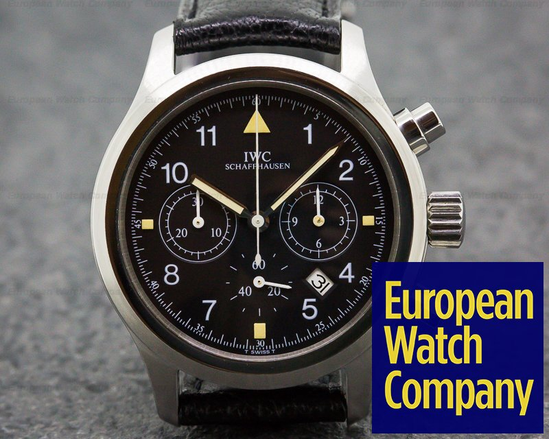 Iwc Flieger Pilot Chronograph Quartz