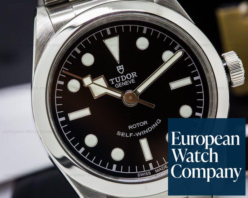newest collection b16f8 ac63d 25226) Tudor 79500-BKSS Tudor Heritage Black Bay 36 BLACK SS