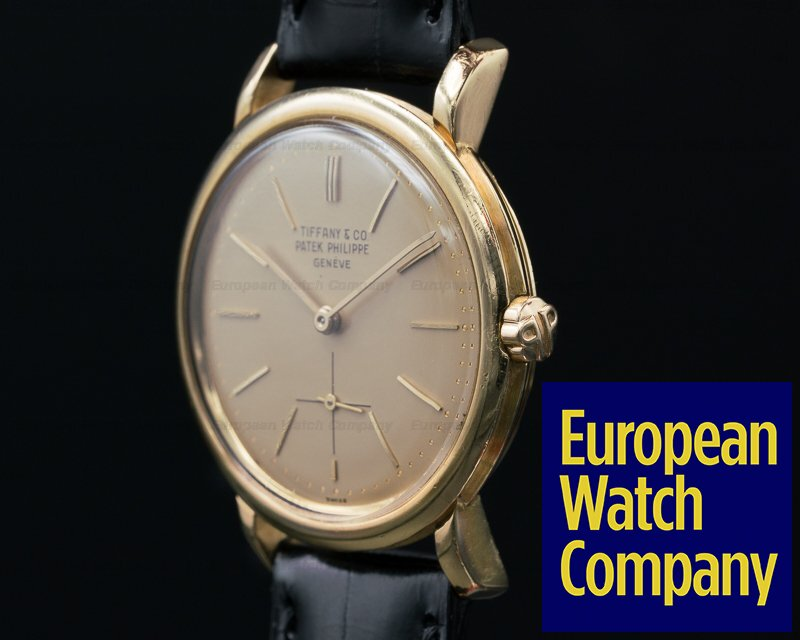 Patek Philippe 3440 Vintage Automatic 18K / Champagne TIFFANY & CO Dial