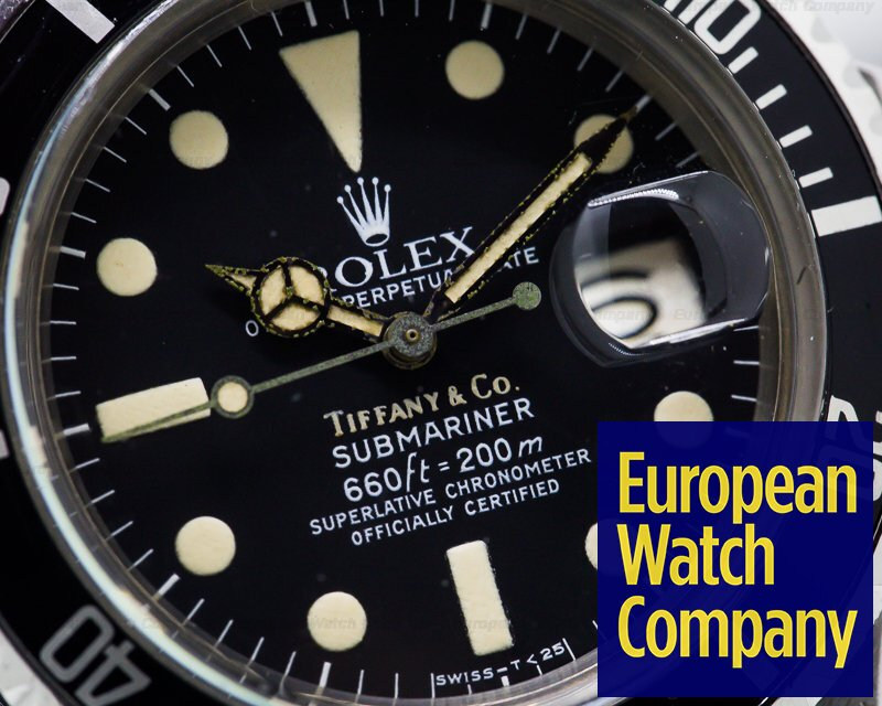 Rolex 1680 Submariner 1680 TIFFANY & CO SS / Bracelet