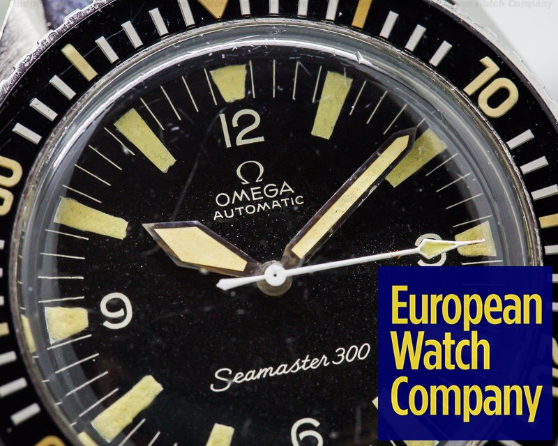 Omega 165.024 Vintage Seamaster 300 INCREDIBLE on Original Bracelet