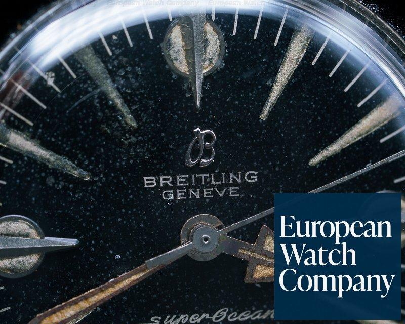 Breitling 1004 1004 Vintage Super Ocean Circa 1959 + Original Bracelet