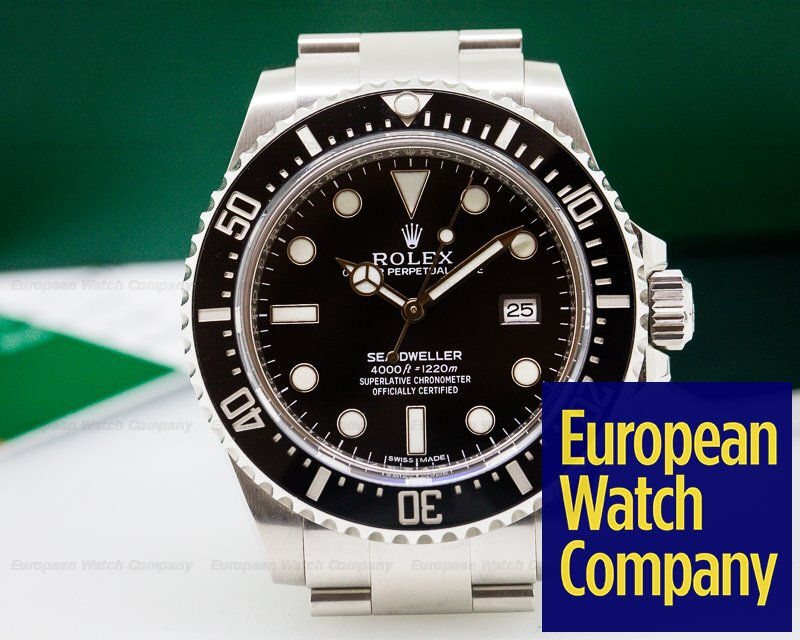 26166) Rolex 116600 Sea Dweller 4000 SS / SS DISCONTINUED
