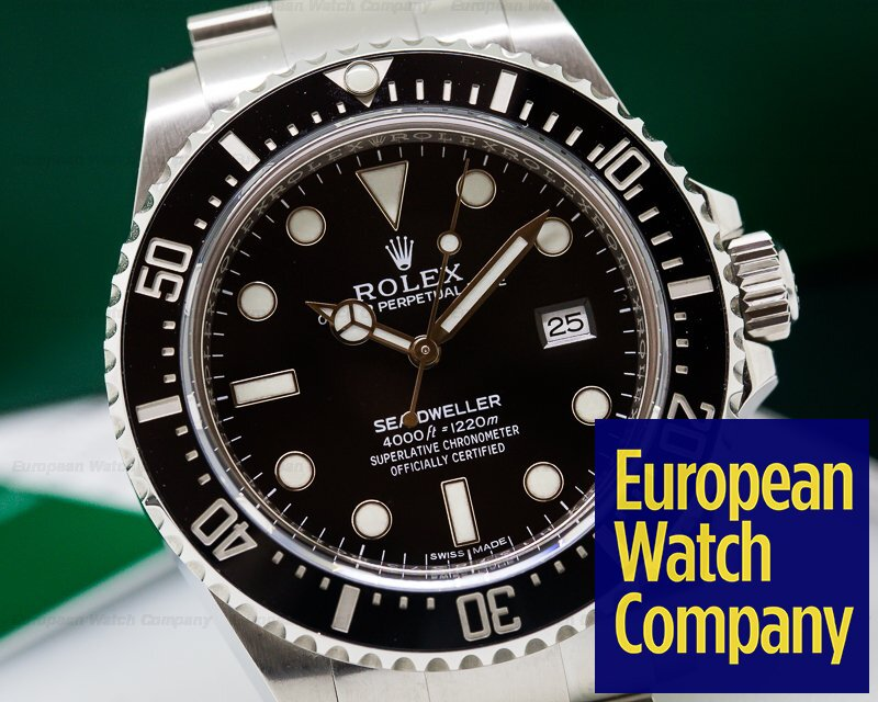 26166) Rolex 116600 Sea Dweller 4000 SS / SS DISCONTINUED
