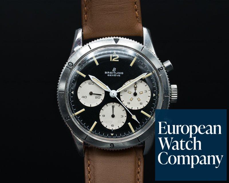 Breitling 765 AVI Vintage Breitling AVI Pilot Watch SS RARE