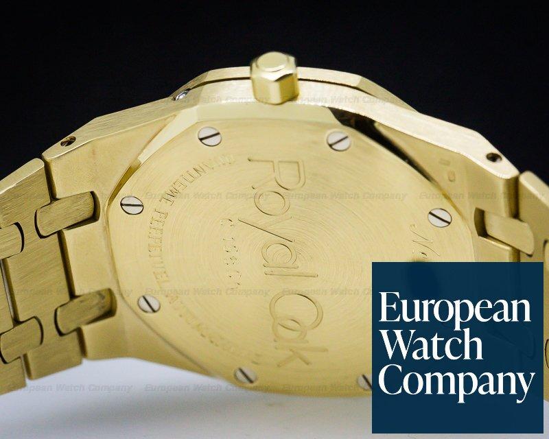 Audemars Piguet 25554BA Royal Oak Quantieme Perpetuel Automatique 18K Yellow / White Dial