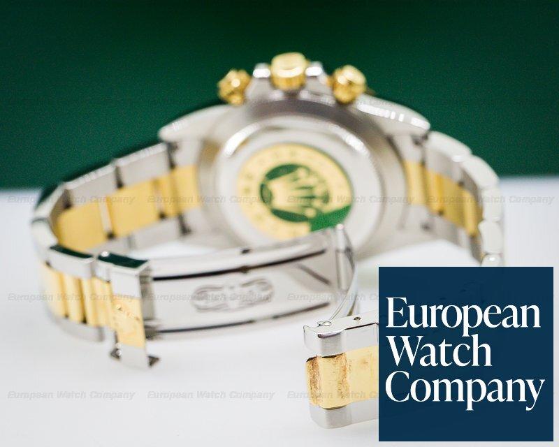 (26608) Rolex 16523 Zenith Daytona SS / 18K Champagne Diamond Dial NICE