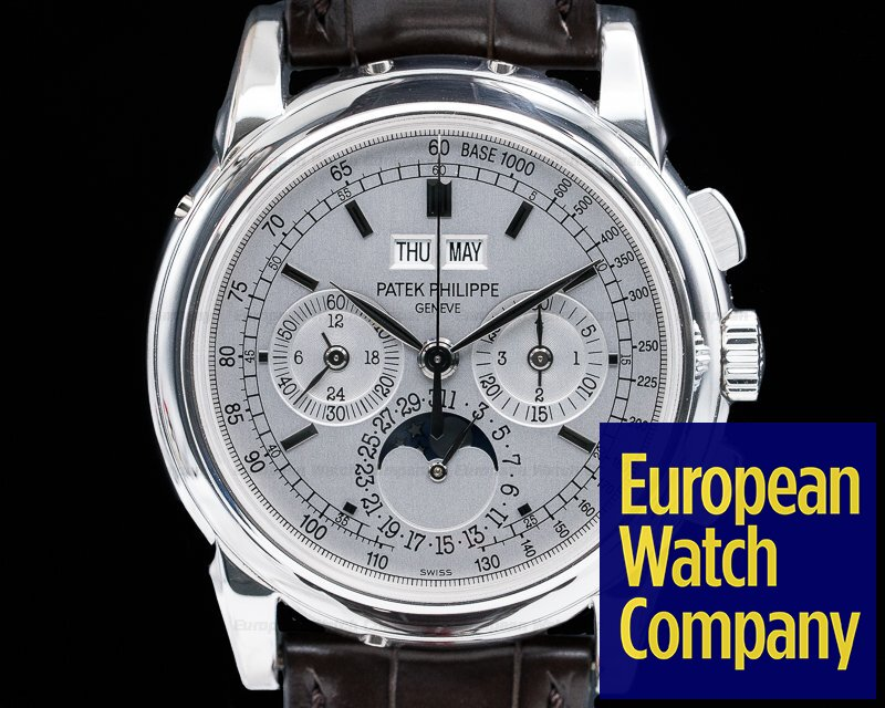Patek Philippe 5970G-001 Perpetual Calendar Chronograph White Gold FULL SET