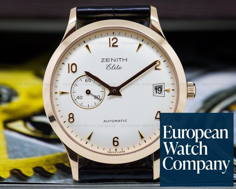 Zenith 17.1125.680/01.C490 Class Elite Automatic 18K Rose Gold 37MM
