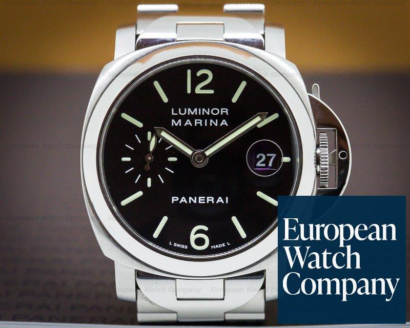 Panerai PAM050 Luminor Marina 40mm Black Dial / Bracelet