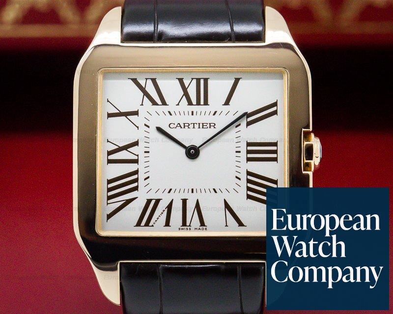 Cartier W2006951 Santos Dumont Rose Gold Manual Wind