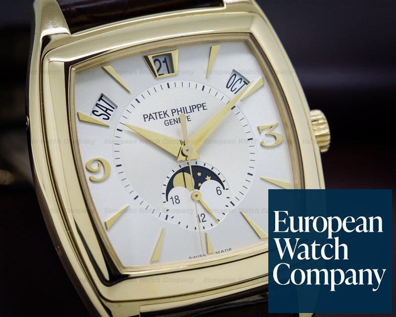 Patek Philippe 5135J-001 Gondolo Calendario Cream Dial 18K Yellow Gold
