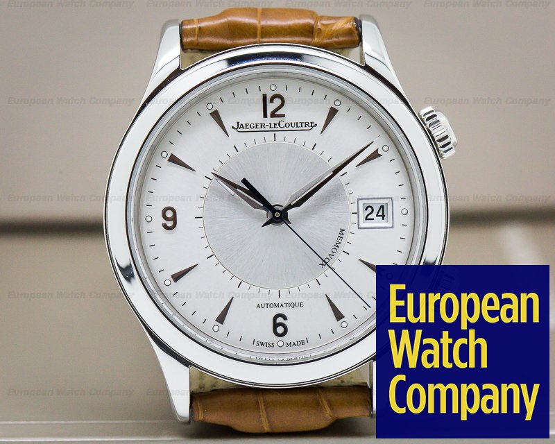 Jaeger LeCoultre Q1418430 Master Memovox SS Silver Dial