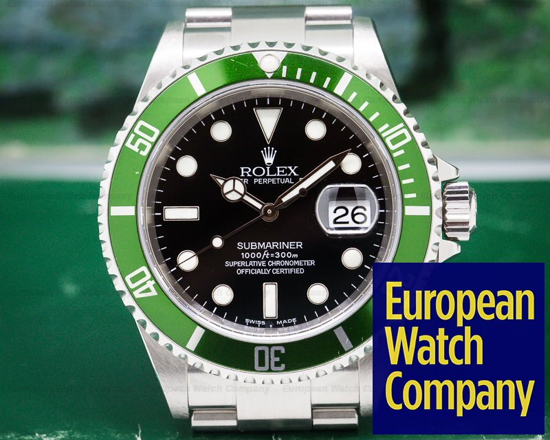 Rolex 16610LV Submariner 50th Anniversary F Series