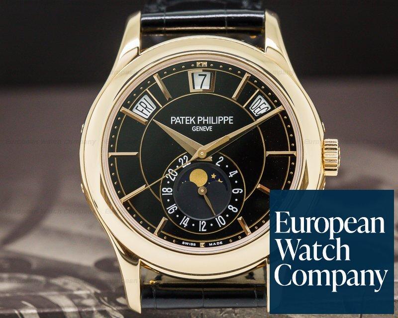 Patek Philippe 5205R-010 Annual Calendar Black Dial