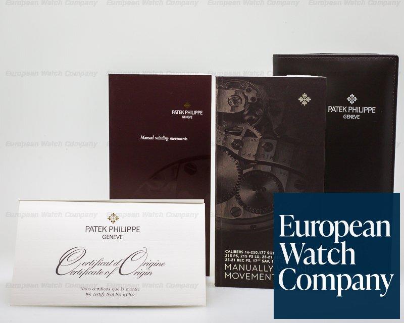 "Patek Philippe 5124G-001 Gondolo ""TIFFANY & CO"" 18K White Gold Manual Wind"
