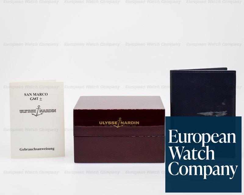 Ulysse Nardin 201-22 201-22 San Marco GMT +/- 18K Yellow Gold