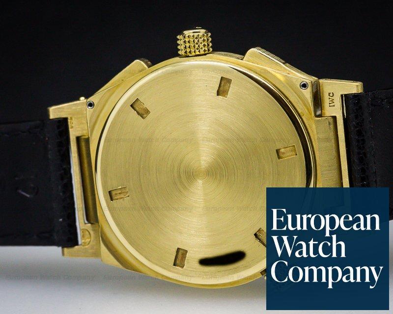 IWC 3815-007 Ingenieur Chronograph Alarm / 18K Yellow Gold