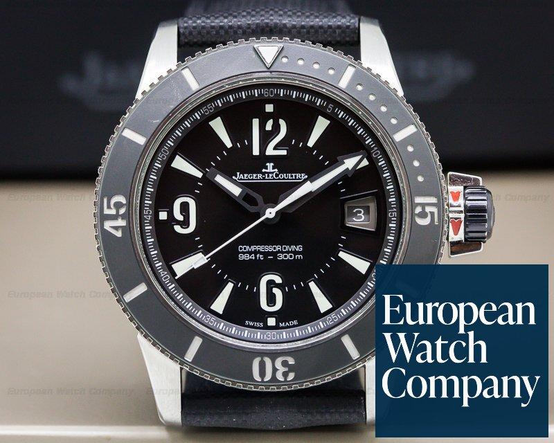 Jaeger LeCoultre Q2018470 Master Compressor Diving NAVY SEALS Calf Strap 42MM