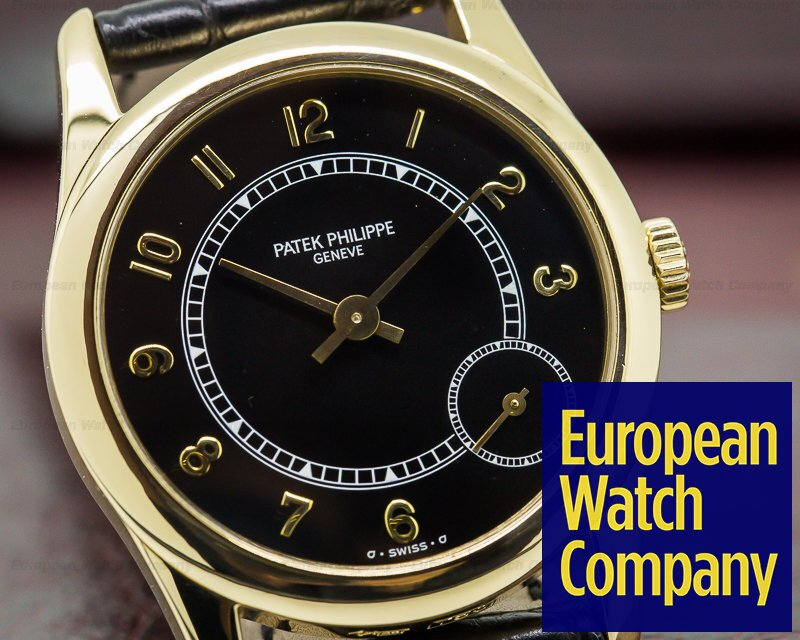 Patek Philippe 5000J Calatrava Automatic 18K Yellow Gold / Deployant