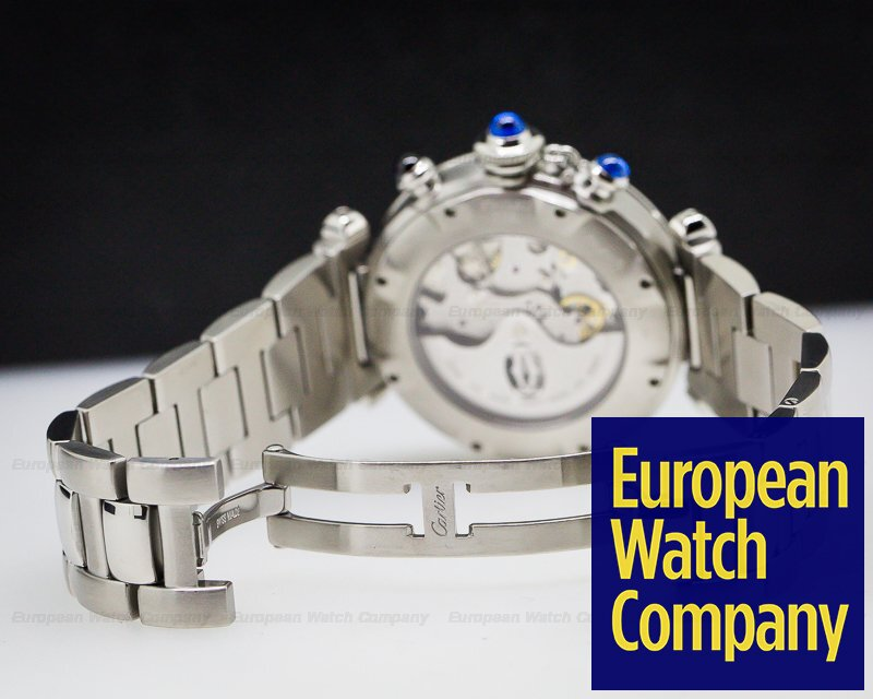 Cartier W31030H3 Pasha Chronograph SS / SS