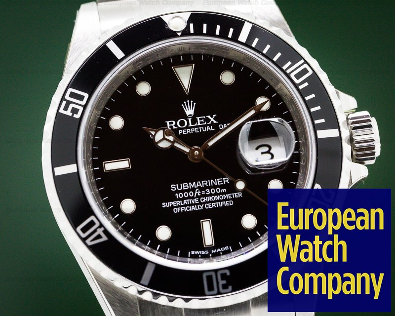 Rolex 16610 Submariner Date NEW OLD STOCK / STICKERS