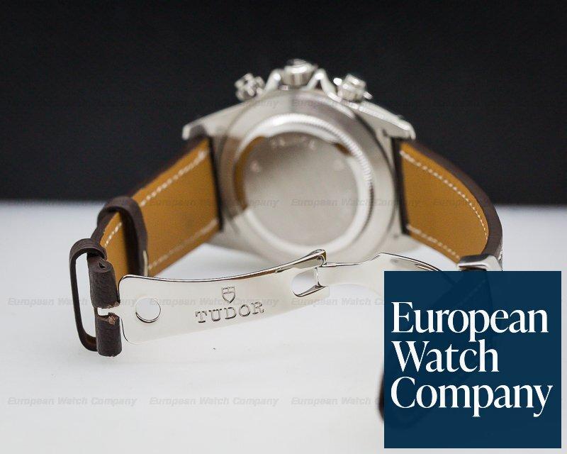 Tudor 79280 Tudor Tiger Chronograph SS / Leather