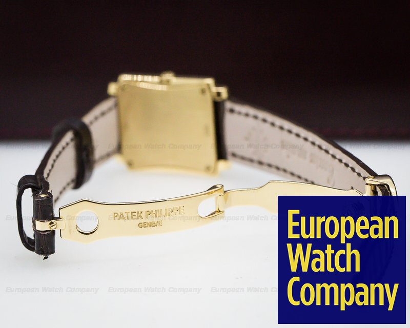 Patek Philippe 4824J-011 Ladies Gondolo 18K Yellow Gold / Deployant