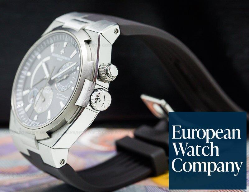 Vacheron Constantin 47450/000W-9511 Overseas Dual Time SS Grey Dial