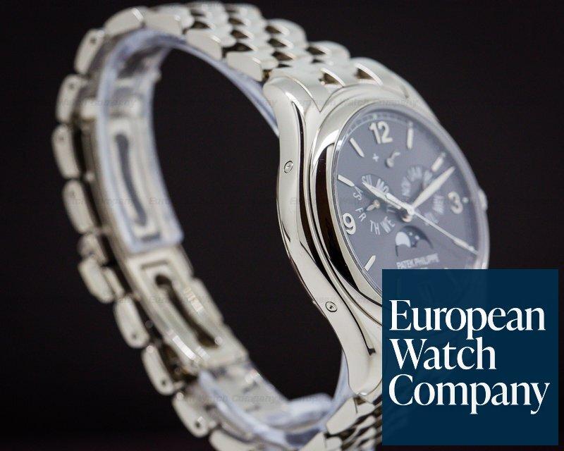 Patek Philippe 5146/1G-010 Annual Calendar 18K White Gold/White Gold Bracelet Slate Dial