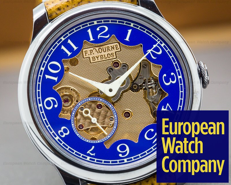 F. P. Journe Byblos Chronometre Bleu Byblos Limited Edition RARE