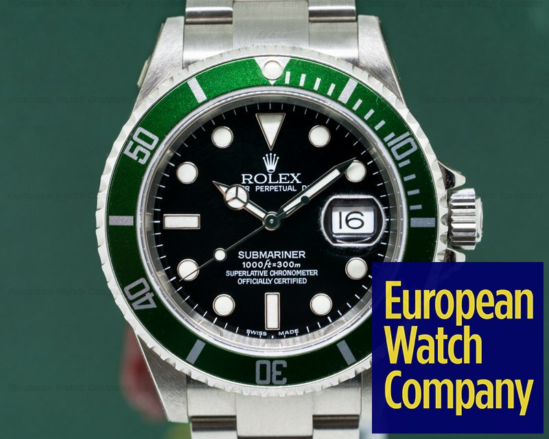 Rolex 16610LV Submariner 50th Anniversary NOS - COMPLETE