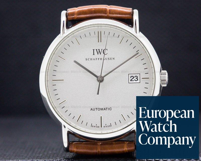 IWC IW353301 Portofino Automatic SS White Dial 38MM