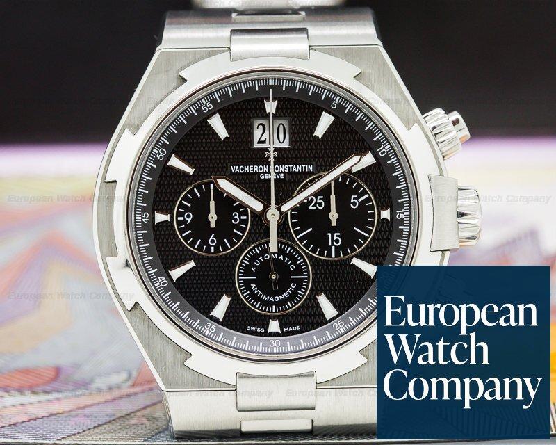 (27416) Vacheron Constantin 49150/B01A-9097 Overseas Chronograph Black Dial