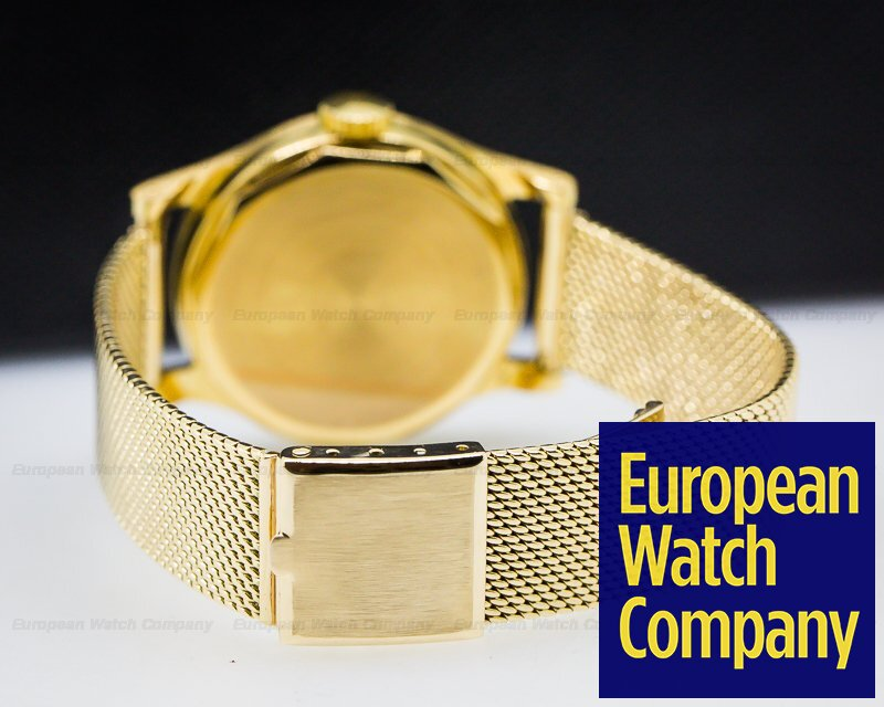 "Patek Philippe 2508 Calatrava Yellow Gold Radium ""TIFFANY & CO"" / Gold Bracelet"